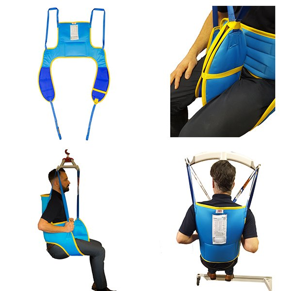 New High Back Extensor Toileting Sling