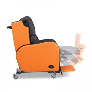 Boston Pressure Relief Chair Footrest Elevation